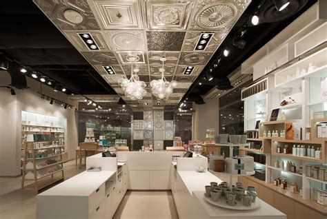 interior design store skins 6 2 cosmetics shop by uxus design