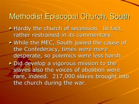 a history of the methodist church south in the united states classic reprint books ppt american methodist history powerpoint presentation