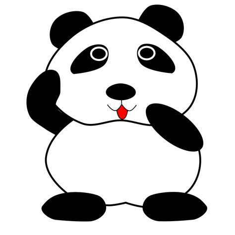 panda clip clipart panda www imgkid the image kid has it