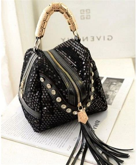 Fashion Bag Import P1940 Black tas import murah distributor supplier bags import korea