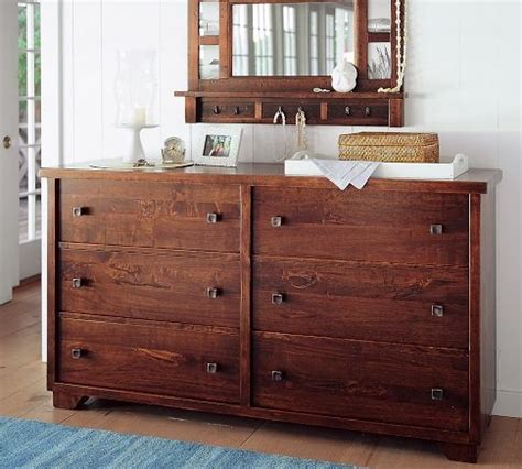 dressers pottery barn and pottery on