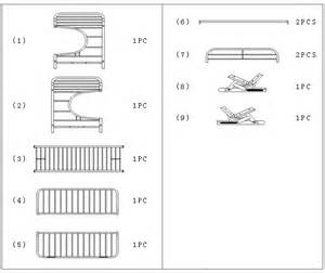 assembly of quot c quot style futon bunk bed how to