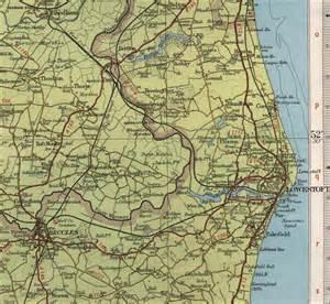 lowestoft map