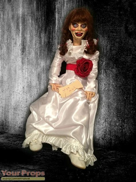 annabelle doll prop annabelle my annabelle doll size made from scratch