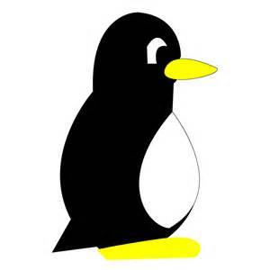 Penguin Clipart Outline by Clip Penguins Cliparts Co