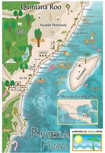 Riviera Maya Mexico Map by Puerto Morelos Riviera Maya Map Girls Wallpaper