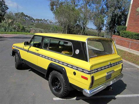 jeep cherokee chief for sale craigslist 1977 jeep cherokee chief for sale classiccars com cc