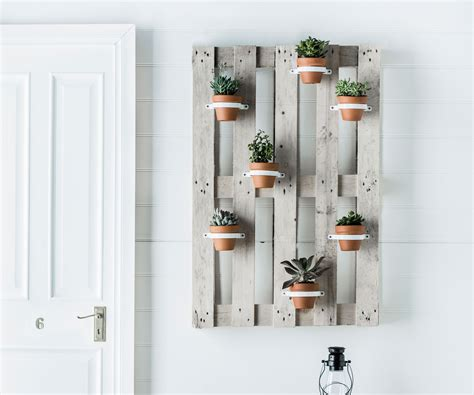 vertical pot plant hanger  home