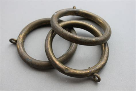 antique gold curtain rings antique french chateau bronze curtain rings architectural