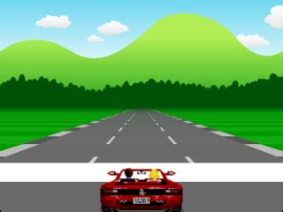 how to build a racing game straight roads