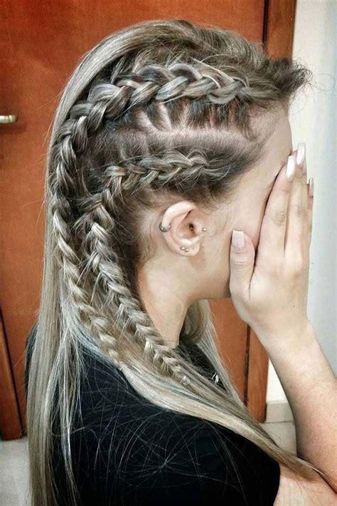 lagertha hair guide vikings lagertha hair tutorial coiffures tresses et cheveux