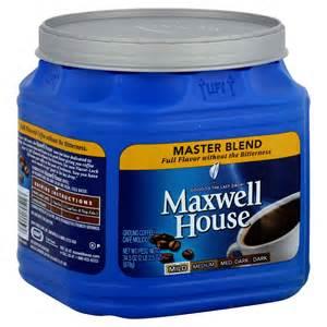 maxwell house coffee ground master blend mild 34 5 oz