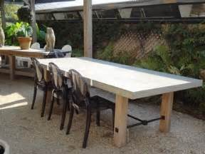 Concrete Outdoor Dining Table Indoor Outdoor Concrete Dining Table Furniture