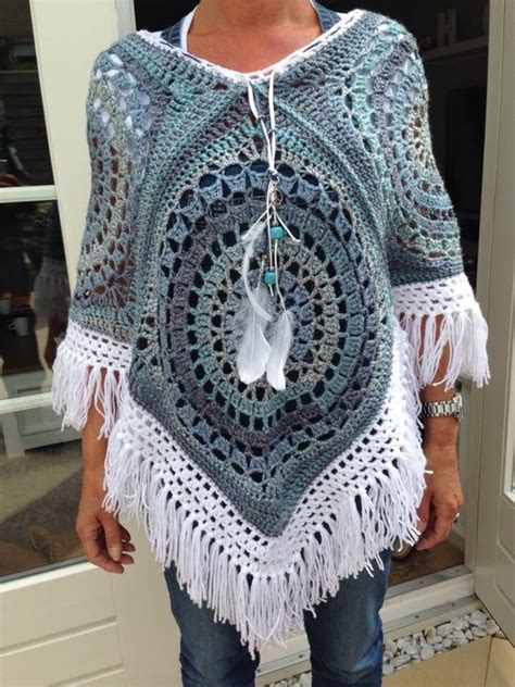 crochet poncho pattern free pinterest free crochet pattern poncho with hood squareone for