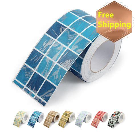 mosaic wall stickers waist wallpaper paste waterproof