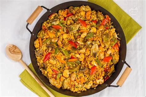 come si cucina la paella surgelata ricetta paella vegetariana la ricetta di giallozafferano
