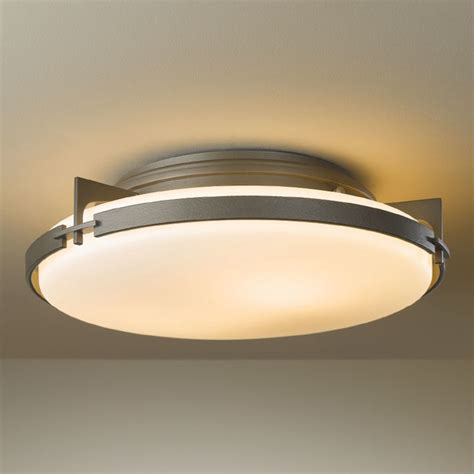 Sea Gull Lighting 8869 12 Black Sebring 1 Light Outdoor Flush Mount Ceiling Light Modern