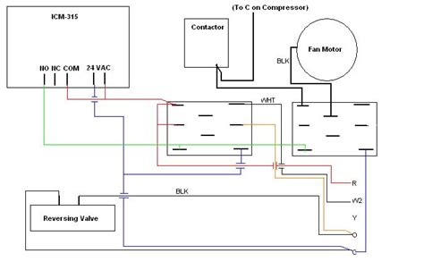 defrost timer wiring diagram i ve purchased a icm 315 defrost timer board for a