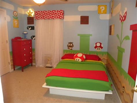 mario brothers bedroom cool mario room design kidsomania