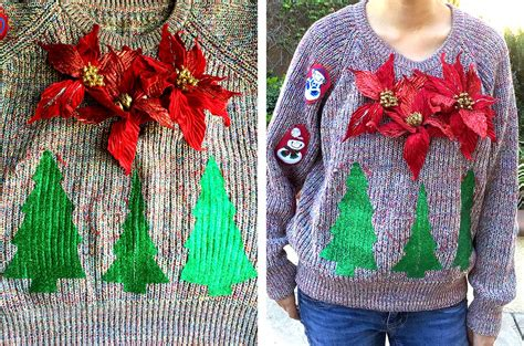 how to decorate an sweater the cheese thief sweater diy