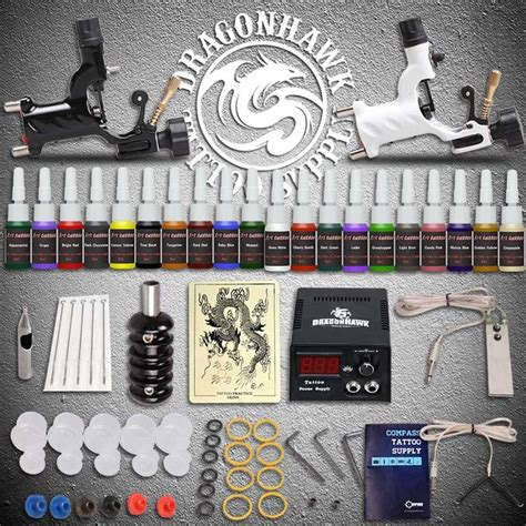 tattoo gun kits for beginners beginner tattoo starter kits 2 rotary tattoo machines guns