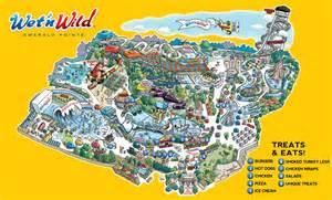Wet N Wild Orlando Map by Park Map Wet N Wild