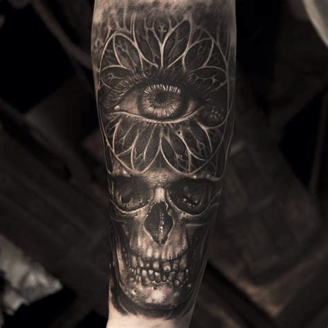 Eye Tattoo With Skull | skull eye tattoo best tattoo ideas gallery