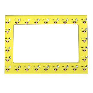 christmas emoji photoframe emoji magnetic picture frames zazzle