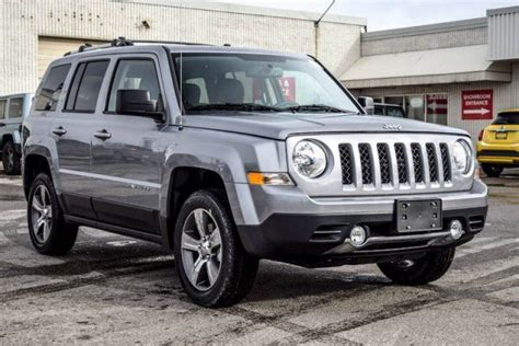 jeep patriot 2017 sunroof 2017 jeep patriot new car high altitude 4x4 sunroof