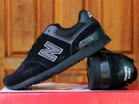 Harga Sepatu Sekolah New Balance Hitam jual sepatu sekolah new balance 574 anak hitam anak
