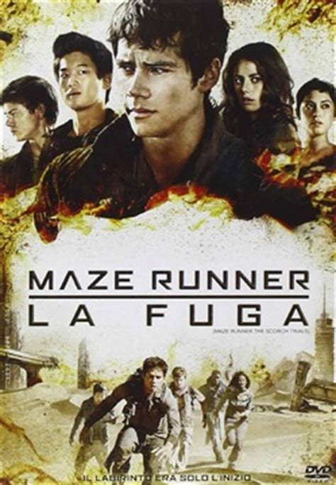 film maze runner dvd film maze runner la fuga dvd film lafeltrinelli
