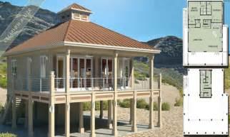 coastal house plans on stilts
