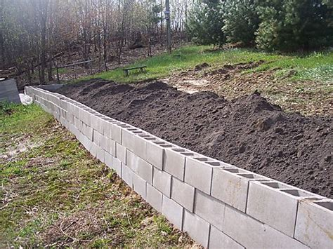 cheap garden wall how to build inexpensive retaining walls spotlats