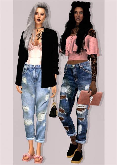 sims 4 cc boyfriend jeans simsimi boyfriend jeans at lumy sims 187 sims 4 updates