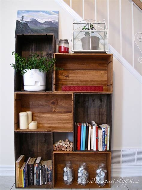bookshelf ideas diy best 25 homemade bookshelves ideas on pinterest book
