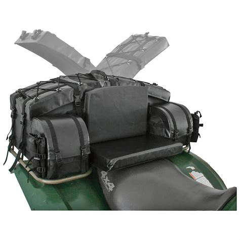 atv tek arch series atv rear cargo bag black 583646