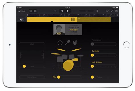 Garageband Hardware Apple Updates Garageband For Ios With Live Loops Inspired