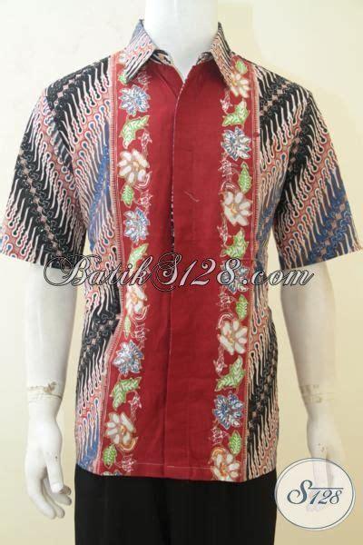 desain baju batik anak muda baju batik anak muda hem batik lengan pendek desain motif