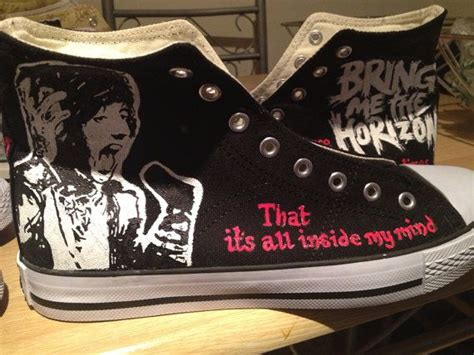 Jam Tangan Custom Bring Me The Horizon Bmth bring me the horizon vans shoes www pixshark