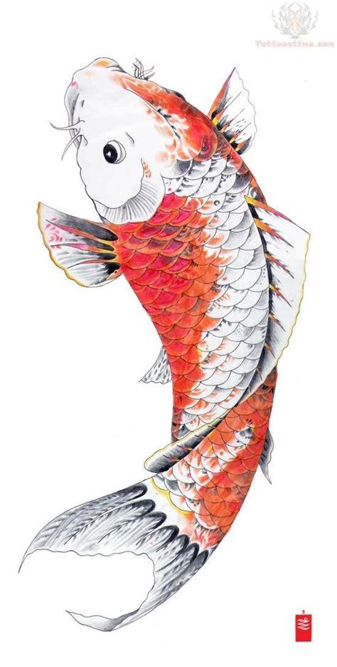orange koi fish tattoo design orange koi fish wanting a koi fish to cover the tribal