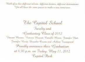 graduation ceremony invitation template graduation invitation cards for