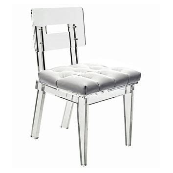 Best Clear Acrylic Dining Chairs Products On Wanelo White Acrylic Dining Chairs