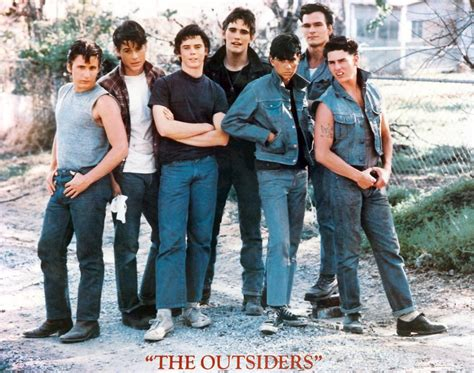 rob lowe patrick swayze made tom cruise look lobotomized cineplex com the outsiders