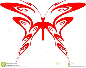 imagenes mariposas tribales mariposa llameante vector 7 tribales fotos de archivo