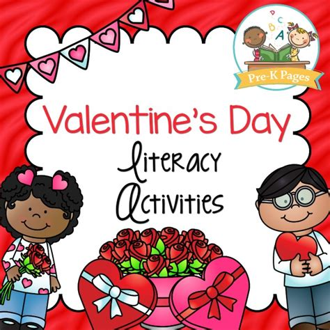 valentines day for preschoolers s day literacy activities pre k pages