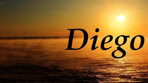 imagenes del nombre love diego significado y origen del nombre youtube
