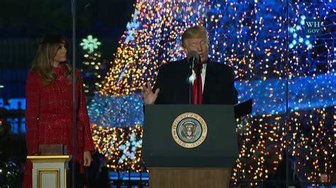 lighting national tree 2017 2017 national tree lighting