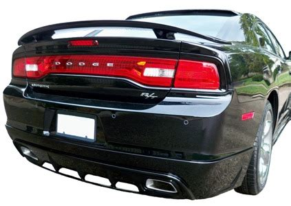 dodge charger rt : painted rear spoiler wing fits 2006