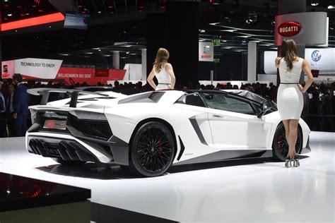 lamborghini aventador sv roadster price in usa frankfurt motor show 2015 highlights gtspirit