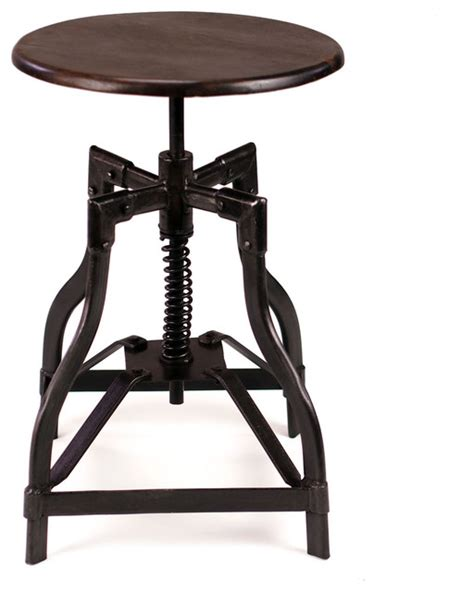 Industrial Swivel Counter Stool by Mcclain Industrial Style Swivel Stool Industrial